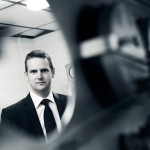 Industrial photographer Coventry - Engineer Portrait, Meggitt