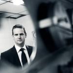 Industrial photographer Coventry - Engineer Portrait, Meggitt
