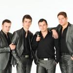 Publicity Photographer - Studio shot of boy band