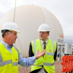 PR photography Staffordshire. Lord Redesdale at Biffa recycling centre, Cannock
