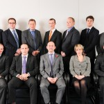 Coporate photographer - business team group photo, Logica, Solihull