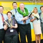 Event photographer Gloucestershire - Aviva Corporate event prize winners, Tewkesbury