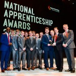 Apprenticeship Awards 2013 at NEC - Winners Group photo with Nick Clegg