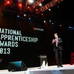 Deputy Prime Minister Nick Clegg at 2013 Apprenticeship Awards event, NEC Birmingham