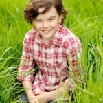 Creative location photographer - publicity shot for child actor Gully McGrath