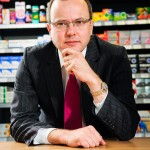 Corporate Portrait Photographer Coventry - Finance Director of Lloyds Pharmacy