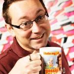 Character portrait - irreverant giftware designer / supplier Dean Morris
