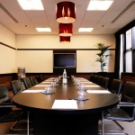 Midland interiors photographer - Birmingham Ibis Hotel meeting room