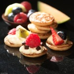 Food photographers Warwickshire - Fruity Blinis pack shot