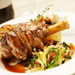 Pub food photographer - Lamb Shank. Client - Merchant Inns