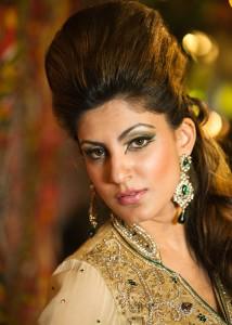 Coventry photography - Asian Bridal portrait - magazine shoot