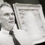 Character portrait, photograph of artist John Myatt, Solihull