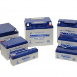 Product photograph of battery set, shot at client's premises, Halesowen
