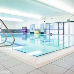 Swimming baths in West Bromwich image - Commercial Interior photographer Edward Shaw for tiling & flooring contractor