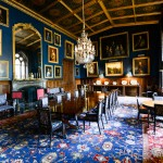 Eastnor Castle Herefordshire Interior of the ornate State Dining Room photographer Ed Shaw-5053