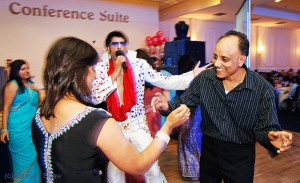 Dancing with Indian Elvis. West Bromwich