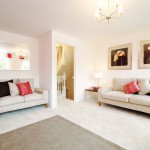 Interior photography for Barratt Homes, Dudley