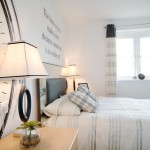 Show home bedroom interior photography Dudley