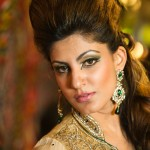 Fashion Portrait Photography Coventry - Asian Bridal make up