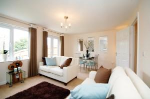Interiors photographer Birmingham - Barratt Homes