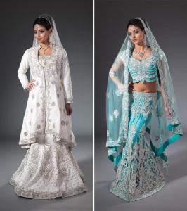 Studio fashion photographer - Asian Bridal Editorial