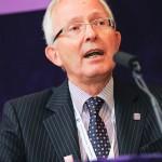 Conference speaker portrait photograph