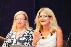 CCUA Conference photography Leicester - Lively female panel speakers