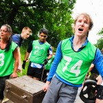 Event photographer Birmingham - outdoor physical team challenge