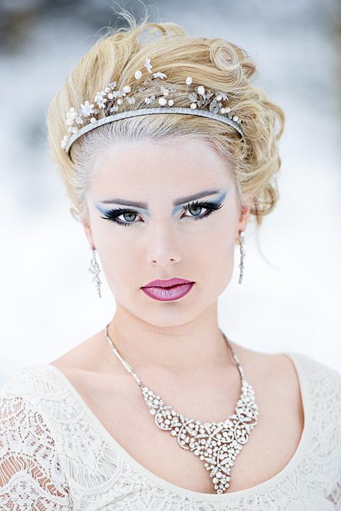 Snow Queen Fashion Headshot
