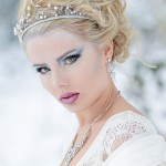 Outdoor beauty fashion portrait in Solihull - photographer Edward Shaw