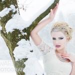 Snow Queen winter fashion concept - Brueton Park, Solihull, Jan 2013
