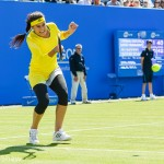 World Ladies tennis number 30 Sorana Cirstea