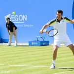 Tennis photo Tim Henman backhand