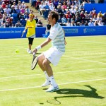 Greg Rusedski volley