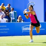 Tennis star Heather Watson at Edgbaston Priory