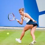 Tennis-Barbora Zahlavova Strycova running forehand