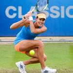 Ana Ivanovic action photo at Aegon Classic Tennis