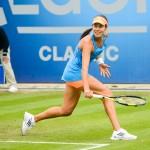 Tennis photo Ana Ivanovic, backhand from baseline
