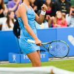Triumphant Winner Ana Ivanovic,